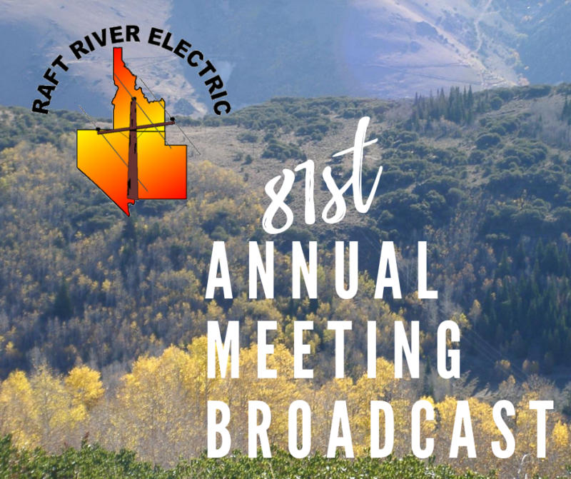 Raft River Electric 81st Annual Meeting Broadcast
