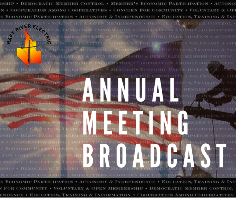 Raft River Electric 82nd Annual Meeting Broadcast