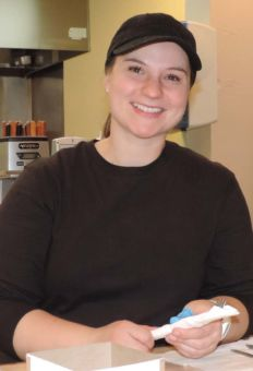 Holly Taylor, part of the Black Pine team