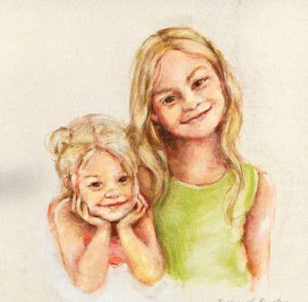 Darla's nieces.