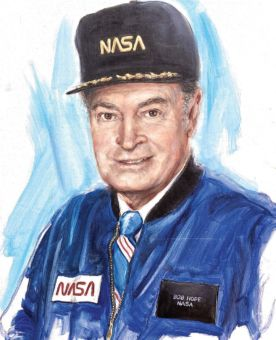 Her portrait of Bob Hope hangs in the U.S. Air Force Academy's Falcon Foundation Scholarship Gallery.