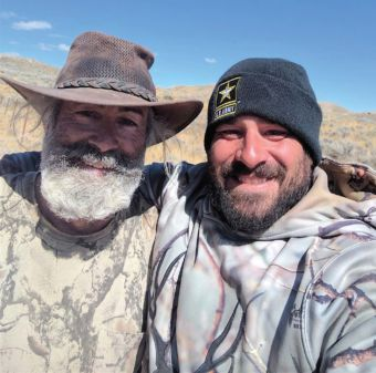 Robert Amundson, left, is one of Daniel's longtime hunting partners.