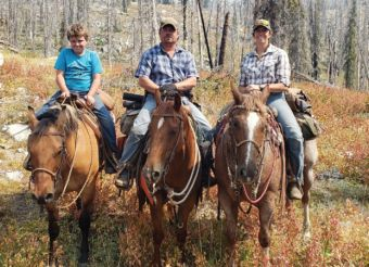 Sara, her husband, Travis, and their son, Wyat, are avid hunters.