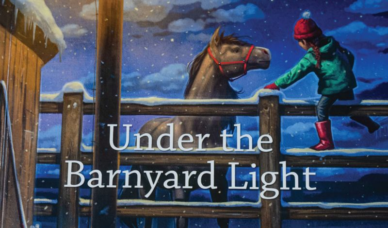 """Carla Crane Osborne's book, """"Under the Barnyard Light,"""" was released in November after a decade of work. It is the first of a series. Photo courtesy of Carla Crane Osborne"""